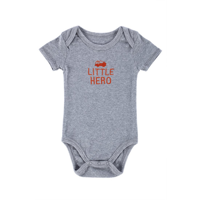 "Mothers Nest ""Little Hero"" Bodysuit for Boys"