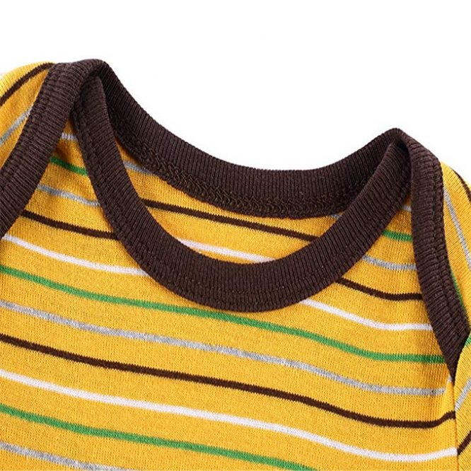 Mothers Nest Colorful Striped Bodysuit