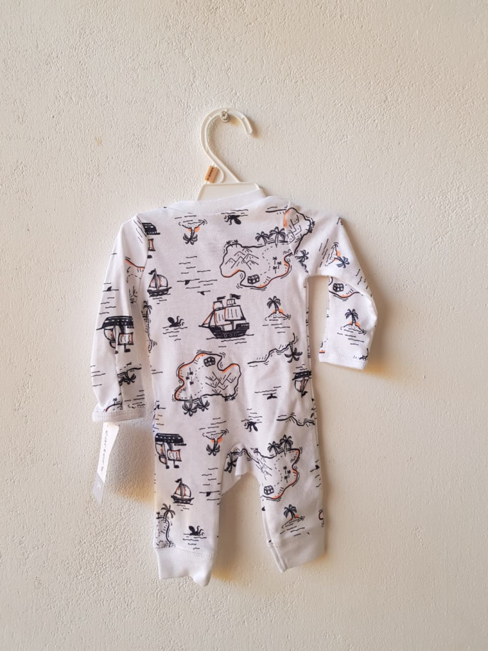 Carters Island Graphics Sleepsuit