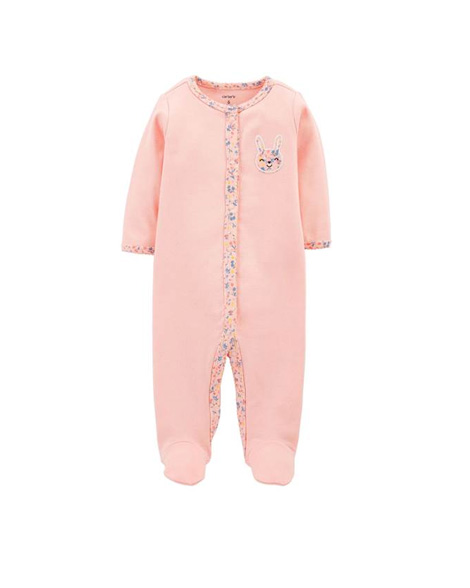 Carters Bunny Snap-Up Cotton Sleep & Play